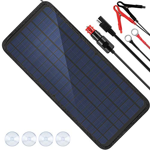 10 Best Battery Charger With Solar Panels