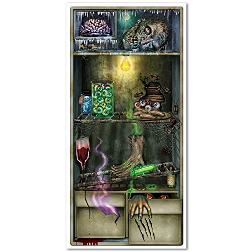 Club Pack of 12 Halloween Themed Creepy Refrigerator