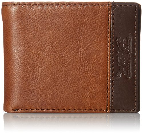 Levi's  Men's  100% Handcrafted Genuine Leather Wallet,Slimfold