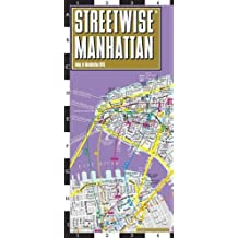 Manhattan Laminated City Center Street map Streetwise (Michelin Streetwise Maps)