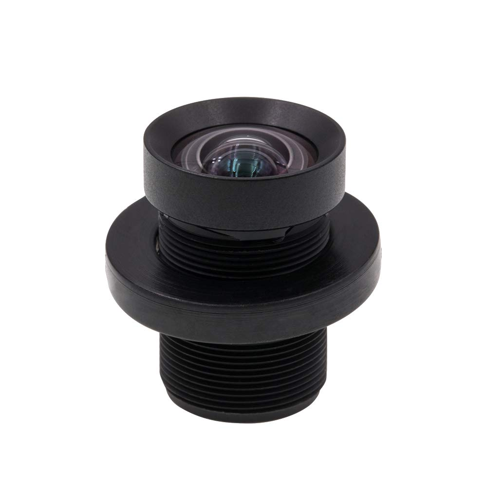 Cvivid Lenses 72 Degree 4.35mm 1/2.3 Inch Sensor 10MP M12 Lens No Distortion Replacement Lens for GoPro Hero 3+/4 Silver/Black, DJI Phantom 4/3/2, Xiaomi Yi and SJCAM Camera by Cvivid Lenses