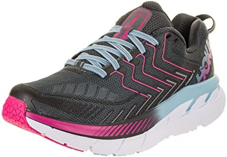 HOKA ONE ONE CLIFTON 4, Gris (Castlerock/Asfalto), 39 EU: Amazon ...