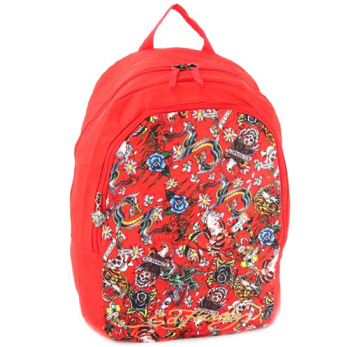 Ed Hardy Womens Girl (Ed Hardy Josh All Over Collage Backpack -)