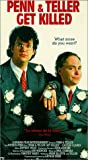 Penn & Teller Get Killed VHS Tape