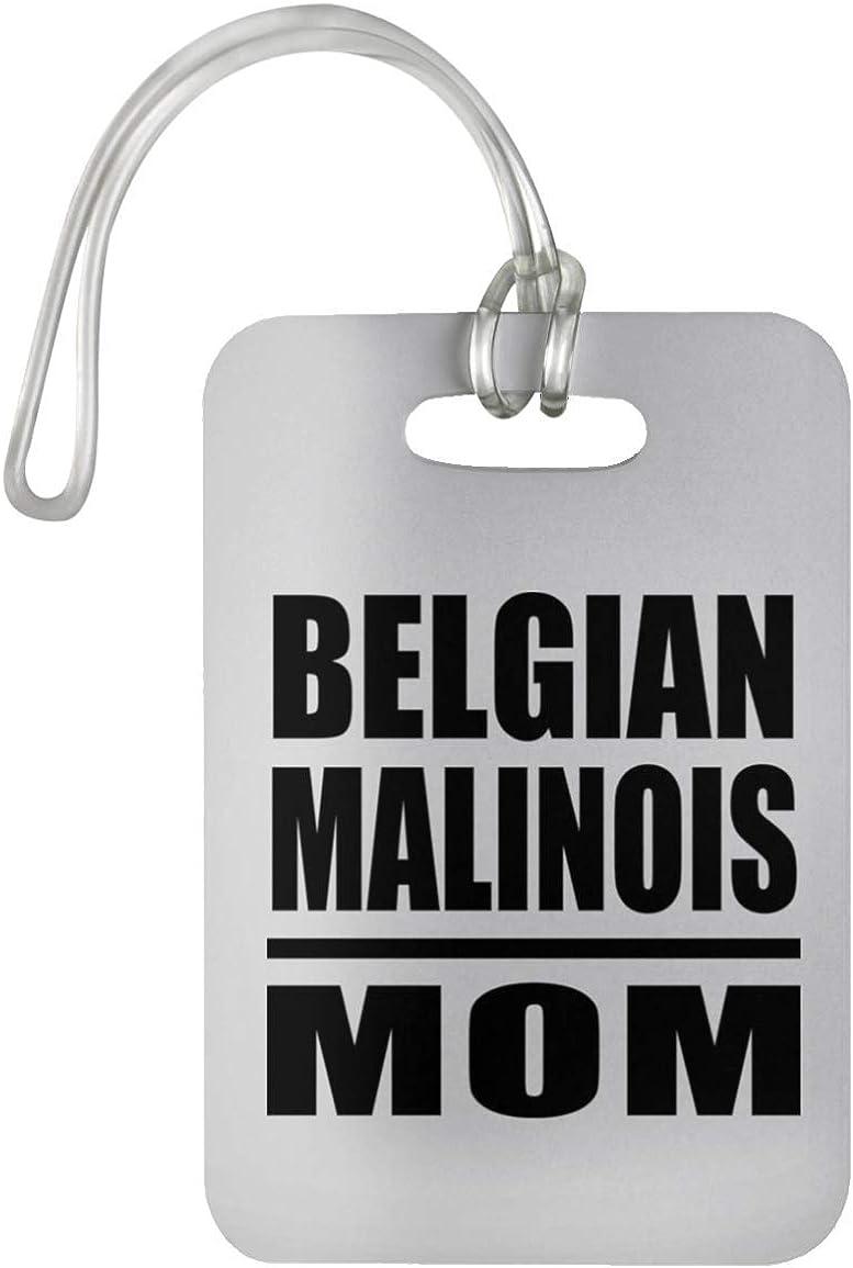 Designsify Belgian Malinois Mom Regalo para Cumplea/ños Aniversario Luggage Tag Etiqueta para Equipaje Maleta D/ía de Navidad o D/ía de Acci/ón de Gracias