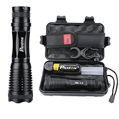 Phixton Tactical 1200lm L2 LED Flashlight