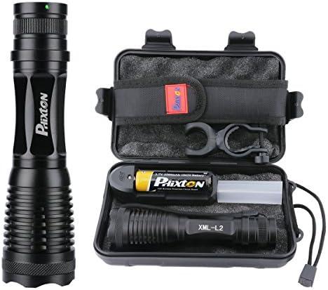 NE/_ 20000LM CREE XM-L T6 LED Flashlight 5Mode ZOOM Tactical/&Military Torch Lig