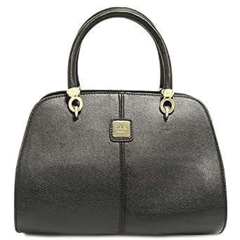 Dilaks 26017 Satchel Bag for Women - Synthetic, Black