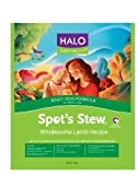 Halo Spot's StewA® Adult Dog, Lamb Recipe, 4-Pounds, My Pet Supplies