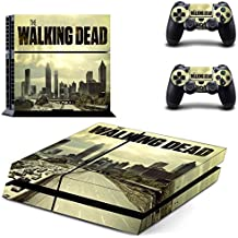 New The Walking Dead Skin Decals Stickers For Sony PS4 Playstation 4 Console and 2 Controllers