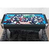 American Heritage Billiards Marvel Universe Air Hockey Table