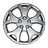 hyundai 14 wheel cover - TuningPros WSC-618S14 Hubcaps Wheel Skin Cover 14-Inches Silver Set of 4