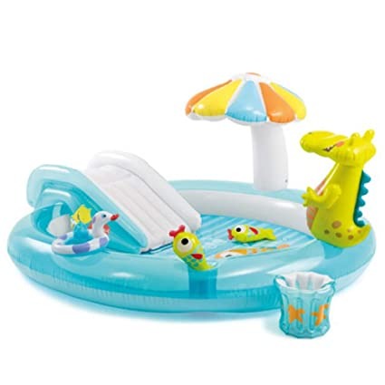 Amazon.com: LZTET - Piscina inflable redonda de cocodrilo ...