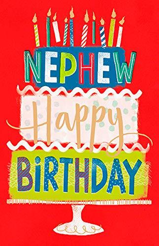 Cool Nephew Happy Birthday Card Amazon Co Uk Office Products Personalised Birthday Cards Veneteletsinfo