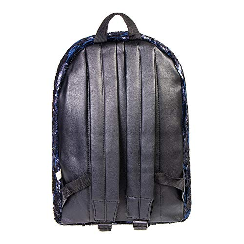 Sequin Black Blue Heart Bleeding Heart Backpack Bleeding TqxwR4t
