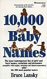 10,000 Baby Names, Bruce Lansky, 0671556924