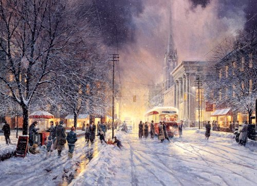 Cobble Hill Winter Interlude 1000 Piece Jigsaw Puzzle