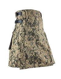 Best Kilts Men US ACU Camouflage Tactical Army Utility Kilt