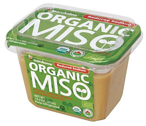 Marukome Organic Broth, Reduced Sodium Miso, 13.2 Ounce (Miso Master)