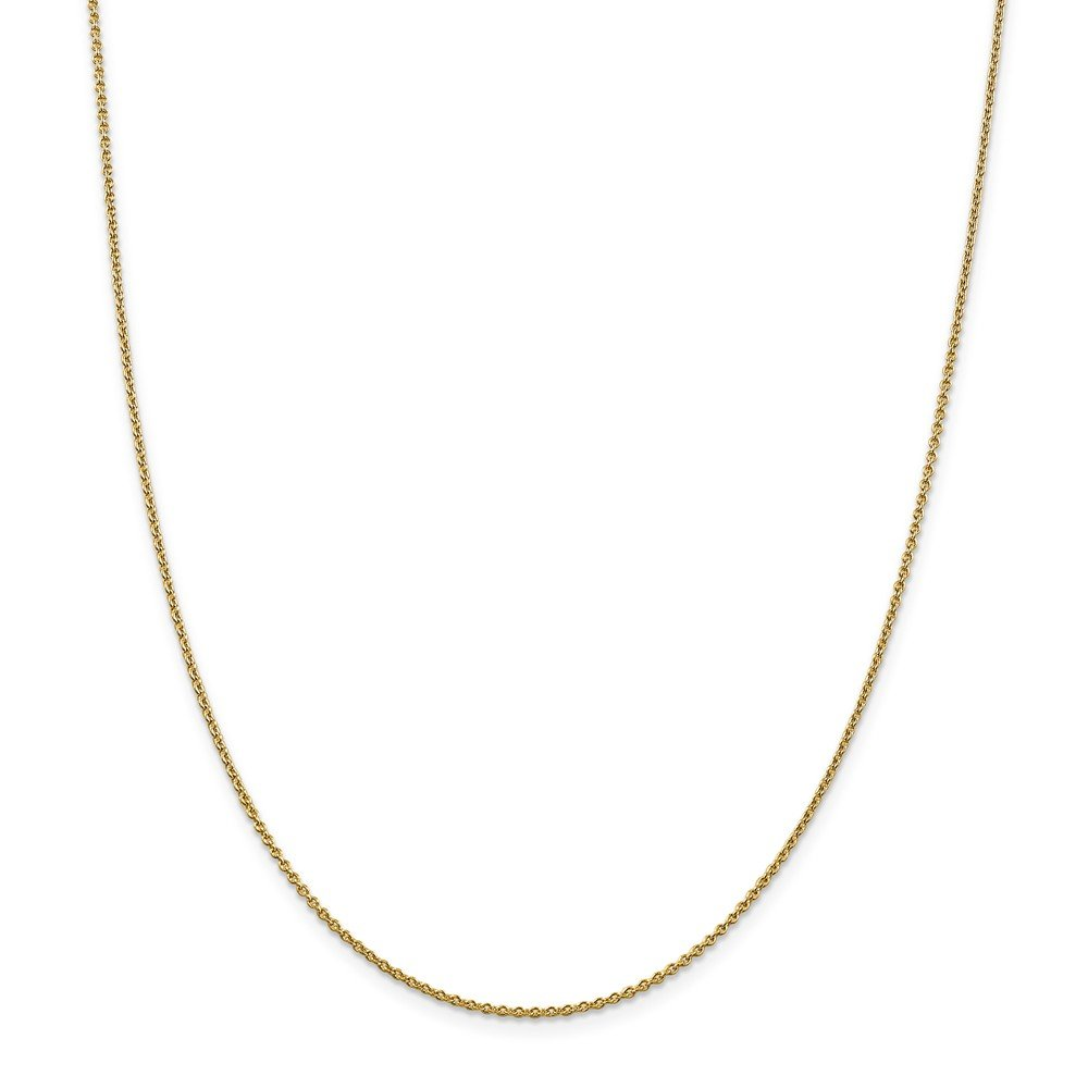 productos creativos 46.0 Centímetros Leslie Leslie Leslie 14 ct 1,8 mm collar de cadena de Cable rojoondo – opciones de longitud  41 46 51  venta al por mayor barato