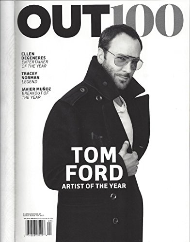 Out Magazine, December 2016-January - Ford Franklin Tom