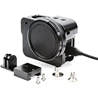 SHOOT Side Open Wire Connectable Aluminium Alloy Metal Skeleton Protective Frame Housing Cage Case Shell with 52mm UV Filter for Gopro Hero 5 Action Camera Accessories(Black)