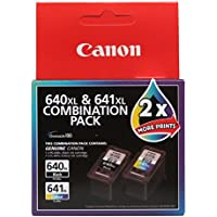 Canon PG640XLCL641XL XL Combo Pack (1 x PG640XL Black & 1 x CL641XL Colour)