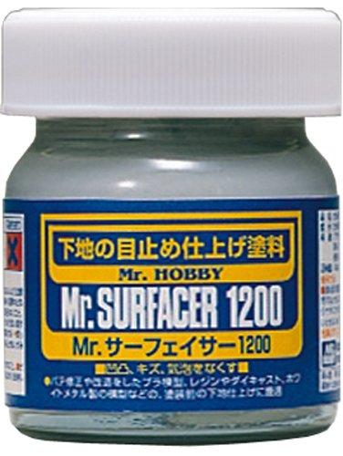 Mr. Surfacer 1200 NET.40ml Bottle Gundam Hobby