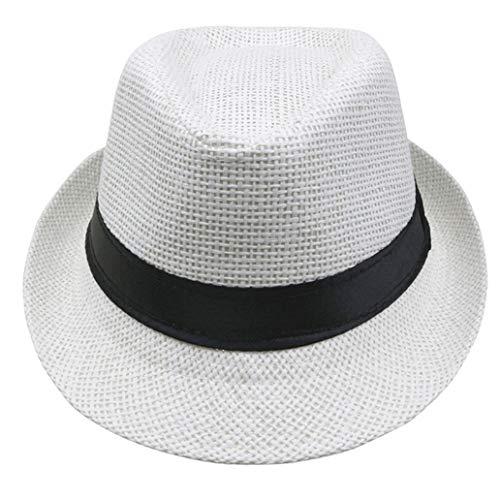 Child Sun Hats Summer Beach Straw Caps Boy Girl Fit Kids Children 54CM