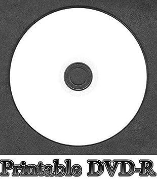 50 Discos DVD-R de Color Blanco para Impresora de inyección ...