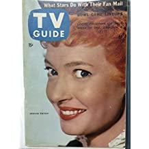 1956 TV Guide Dec 29 Jeannie Carson of Hey Jeannie - Pittsburgh Edition NO MAILING LABEL Very Good to Excellent (4 out of 10) Used Cond. by Mickeys Pubs