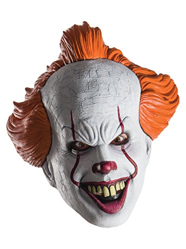 Pennywise from IT Movie 2017 Adult Mask for Halloween One Size Fits Most - It Mask