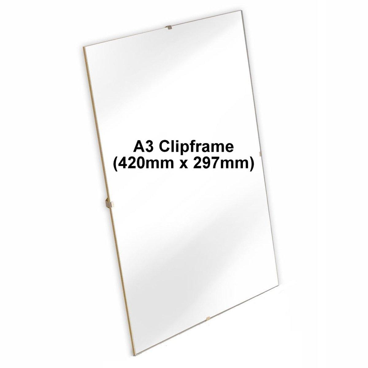 A3 420 x 297 mm), Zertifikate Bilderrahmen, Acryl-Rahmen, Home ...