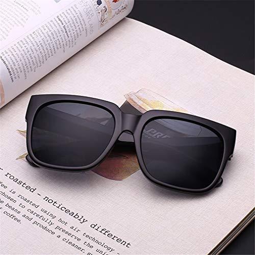 Retro Sol de Polarizadas de UV400 Vintage Lente Unisex Gafas Hombre C1 Sol Gafas Ligero Mujer Cuadrados Fliegend Gafas Súper Espejo qOtvRx