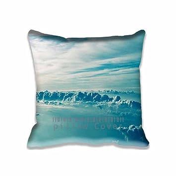 Amazon.com: Nube sobre Cielo Funda de almohada, algodón ...