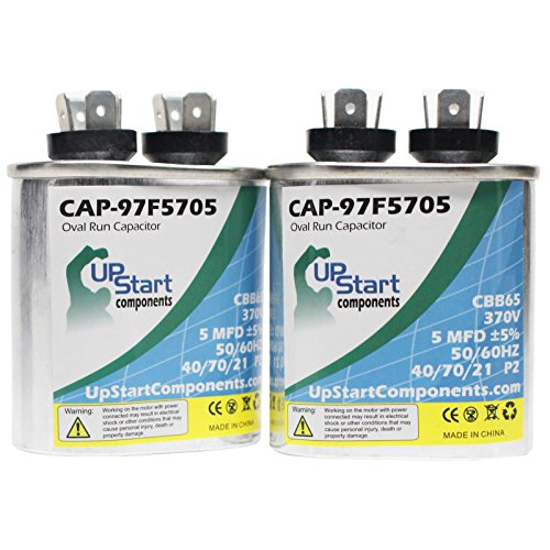 2-pack-5-mfd-370-volt-oval-motor-run-capacitor-replacement-for-lennox-59c9201-cap-97f5705-upstart-co