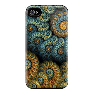 New Cute Funny Fractals Case Cover/ Iphone 4/4s Case Cover