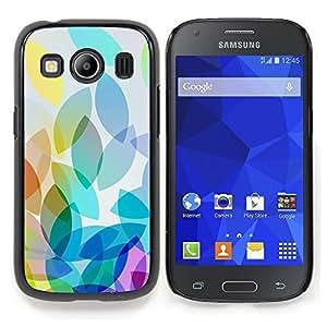 "S-type Manzana colorida luz brillante Blanco"" - Arte & diseño plástico duro Fundas Cover Cubre Hard Case Cover For Samsung Galaxy Ace Style LTE/ G357"