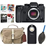 Fujifilm X-H1 Mirrorless Digital Camera Body & Fuji Domke Bag +Software & Focus Accessories