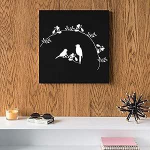 Birds MDF Wall art 30x30 Centimeter