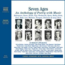 Seven Ages: An Anthology of Poetry with Music (Unabridged Selections) Audiobook by William Shakespeare, Emily Dickinson, Ted Hughes Narrated by Ralph Fiennes, Dame Judi Dench