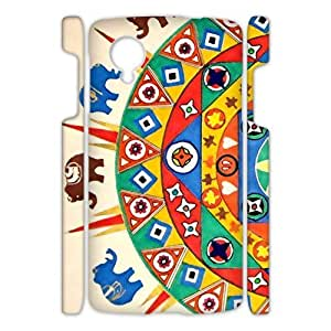 Hoomin Colorful Mandala Elephant Design Google Nexus 5 3D Cell Phone Cases Cover Popular Gifts