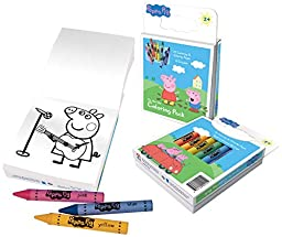 Primary Colors Peppa Pig Coloring Pack (924-PP)