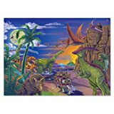 Melissa & Doug Land of Dinosaurs Jigsaw Puzzle (60 pcs)