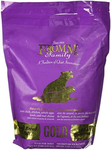 Fromm Gold Adult Dog Food Small Breed 5 Lb