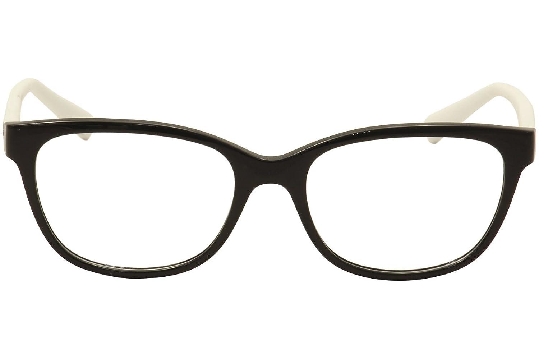 Amazon.com: Armani Exchange AX3037 Eyeglass Frames 8204-53 - Black ...