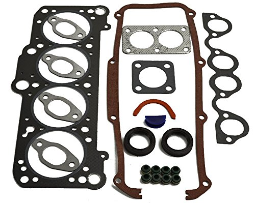 ITM Engine Components 09-12109 Cylinder Head Gasket Set for Audi/Volkswagen 1.8L L4, Fox, Golf, Jetta W/O Exhaust Flange Gasket
