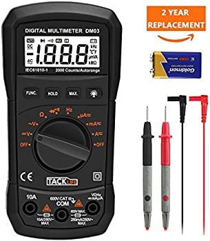 Tacklife DM03 Digital Multi Tester