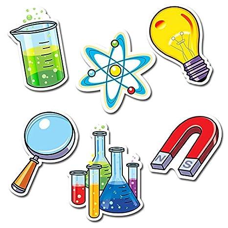 3875 Creative Teaching Press 6 Designer Cut-Outs Science Lab