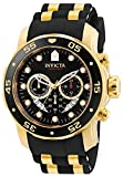 Invicta Men's 6981 Pro Diver Analog Swiss Chronograph Black Polyurethane Watch: more info